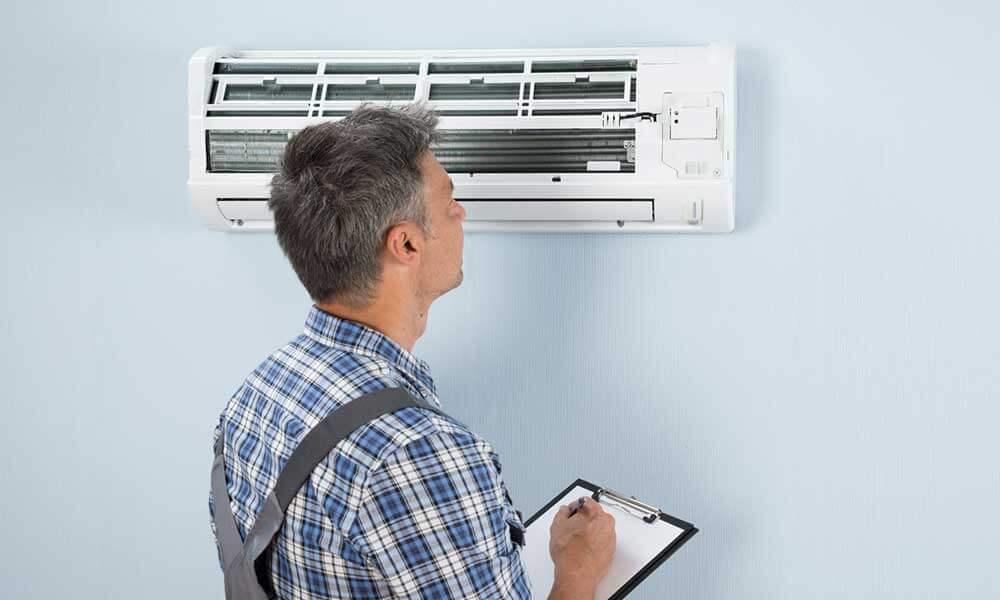 manutenção de um ar condicionado-infoclima