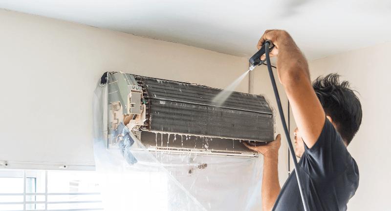 limpeza ar condicionado-infoclima